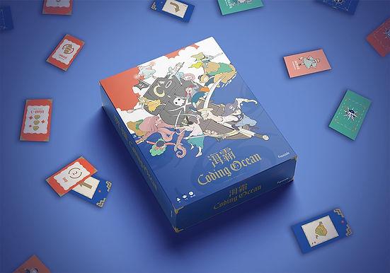 【展品報導】台灣第一款程式教育桌遊「海霸」從玩中學程式語言