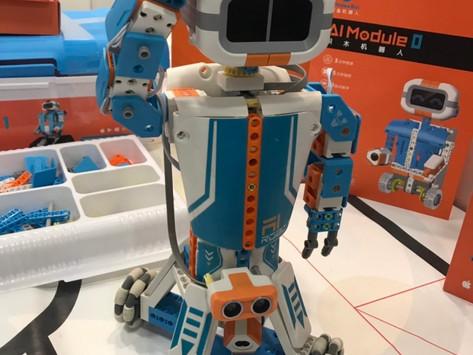 【展品報導】鯨魚機器人 「積木+AI」打造教育新生態