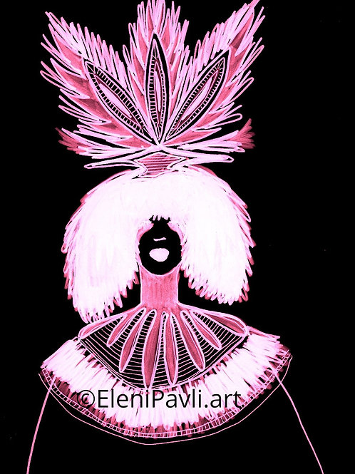 Spiritual Clown Florescent
