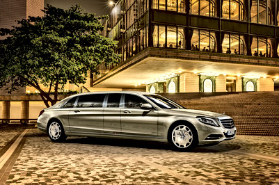 Mercedes Benz 600 Maybach