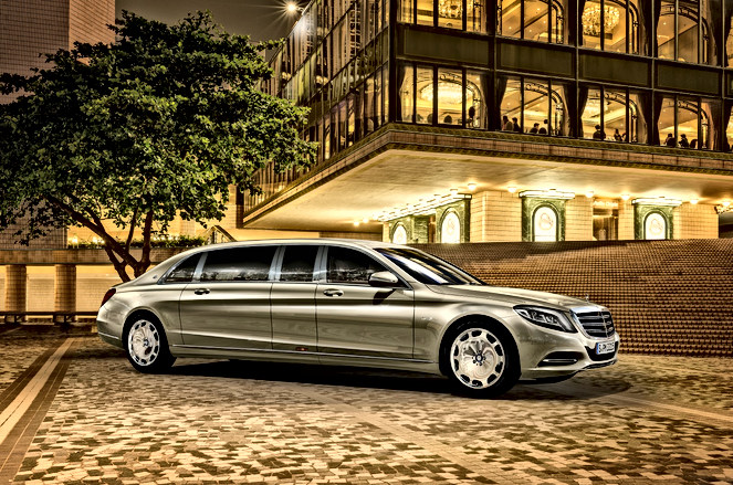 Mercedes Benz 600 Maybach