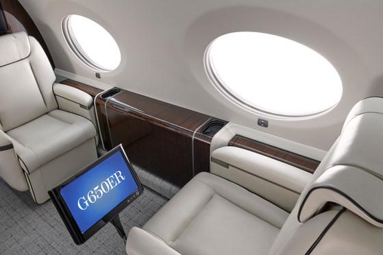 Gulfftream 650 ER Interior