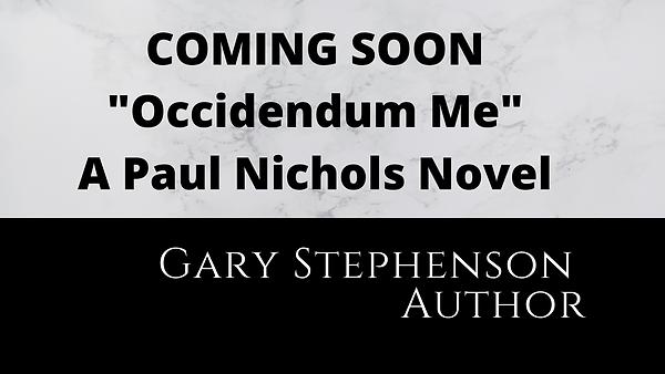 Gary Paul Stephenson Fiction Author