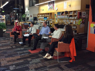 Ngaio Marsh Book Awards - Murder in the Library - New Lynn Library Author panel talk.