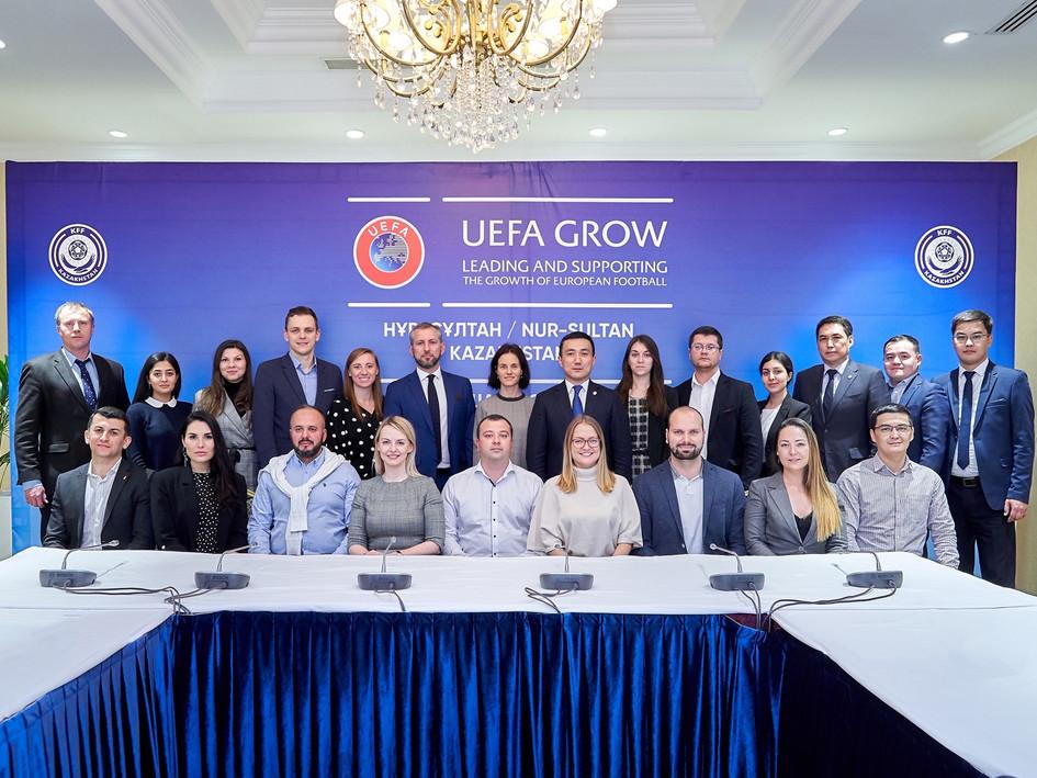 With UEFA GROW and eight Eastern European nations in Nur-Sultan, Kazakhstan
