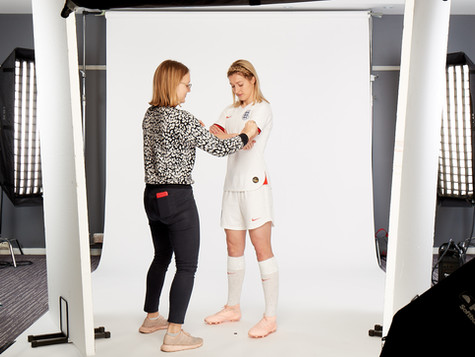 Lionesses 2019 World Cup Shoot - with the incredible Ellen White