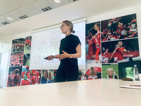"""How to grow attendances in women's football"", Copenhagen May 2019"