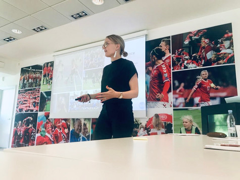 """""""How to grow attendances in women's football"""", Copenhagen May 2019"""