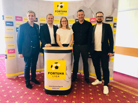 UEFA GROW Mentors team for Fortuna Liga Workshop in Bratislava, September 2019