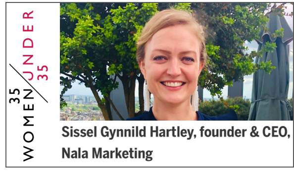 """Included in the prestigious Management Today's """"35 Women under 35"""", June 2019"""
