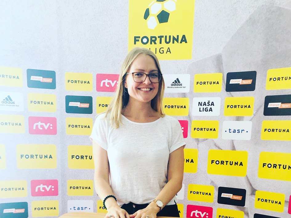 All smiles at the Fortuna Liga workshop, helping the Slovakian league and its clubs grow their attendances