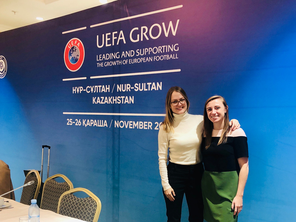 An incredible experience travelling to Kazakhstan with UEFA GROW