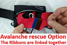 Avalanche rescue option-Ribbons together