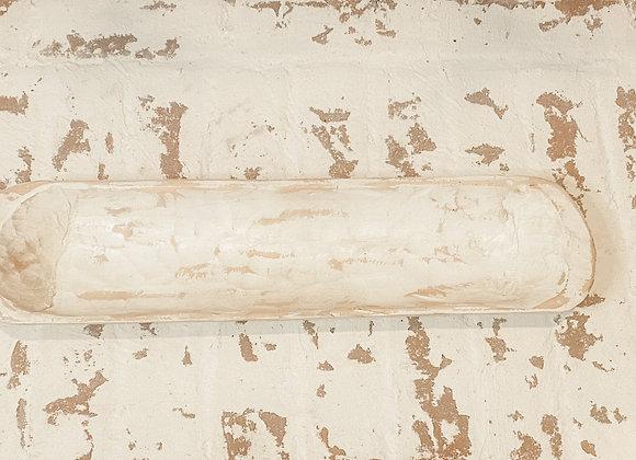 Baguette Dough Bowl Candle- WHITE