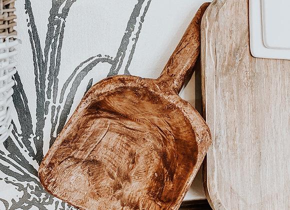 Wooden Grain Scoops