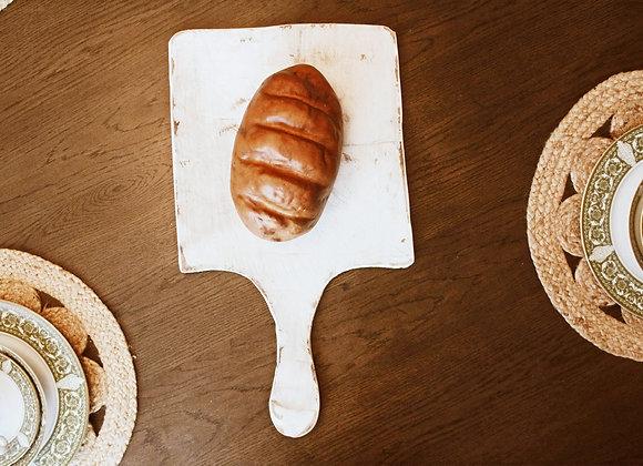 Farmhouse White Washed Bread Boards