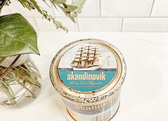 Skandinak Vintage Tin Can Candle
