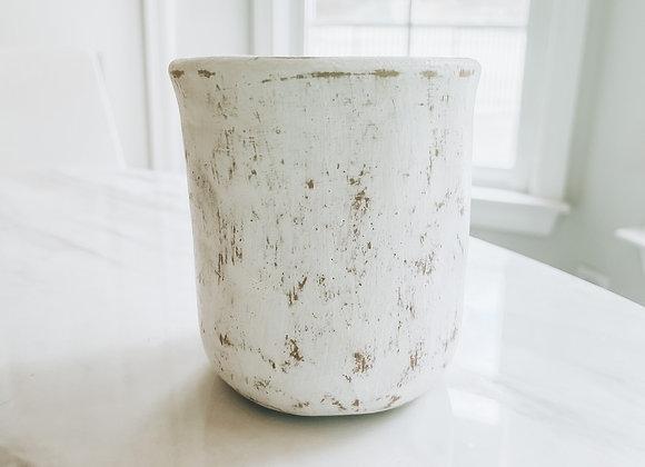 Clay Jar Vessel