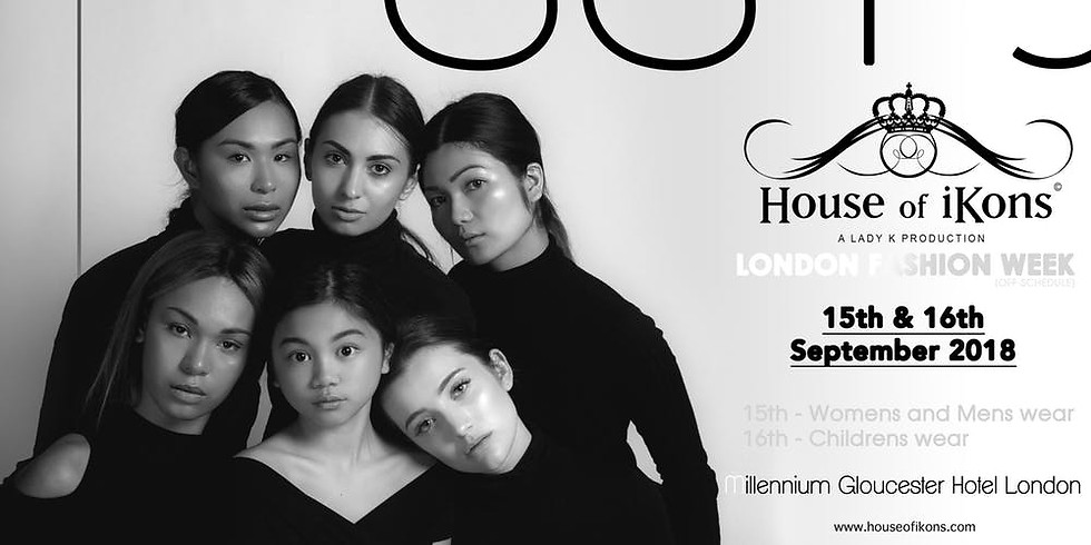 House of iKons Fashion Show 16th September 2018