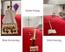 Compilatie van de kapel in de Goede Week