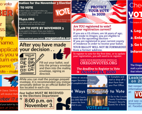 ANOTHER ELECTION BEHIND US, By Voter Service Liaison, Marta West