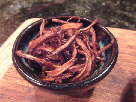Dandelion Root Jerky