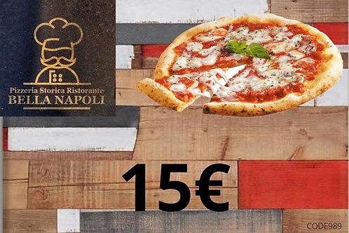 Buono acquisto 15 euro