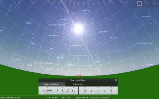 Posição-de-sol-e-estrelas-no-solstício de verão-de-10950-BC-crédito-Martin-Sweatman-e-stellarium-large trans NvBQzQNjv4BqNEaEPVj0ukpq09fI7aH1yBMC7RW9ZfAWIPxLerSbKeU