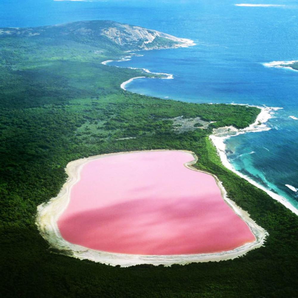 Lago Rosa Australia Senegal