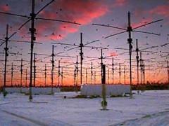 Antenas do Projeto HAARP