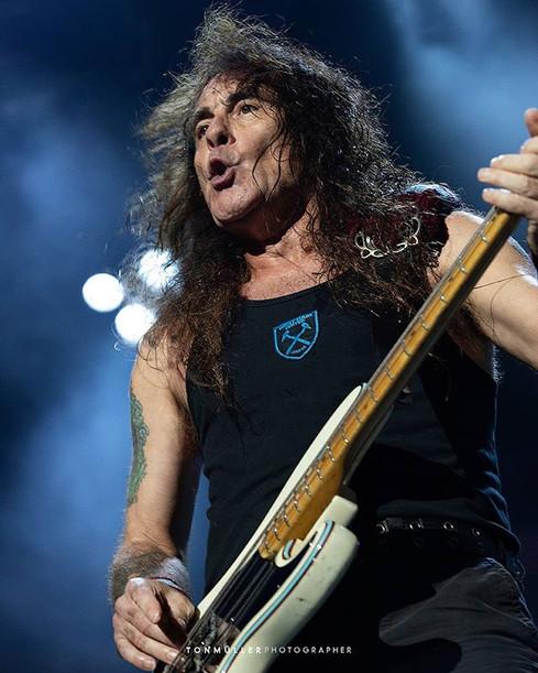 🔥 Steve Harris • Iron Maiden • Porto Al