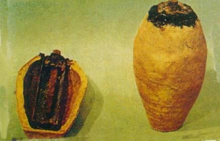 As Baterias de Bagdá como ficaram conhecidas após a descoberta
