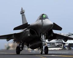 Modelo Mirage usado na interceptação.