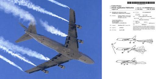 Chemtrails: Patente oficial registada nos USA