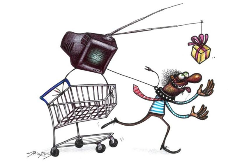 consumismo capitalismo atualidade compras
