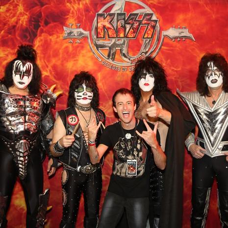 FOTOS: KISS in Floripa + Meet & Greet com a banda!