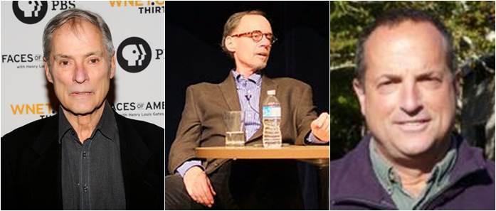 Bob Simon, David Carr e  Ned Colt