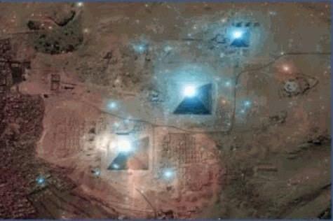 Alinhamento Planetário com as Pirâmides de Gizé 3 dezembro 2012  3