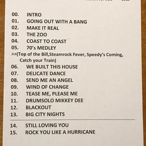 Set List Whitesnake | Porto Alegre