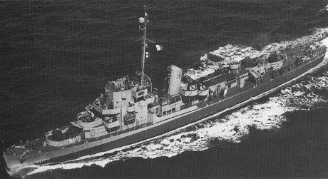 USS Eldridge DE-173 ca. 1944.