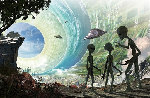 A Agenda alienígena e suas bases subterrâneas