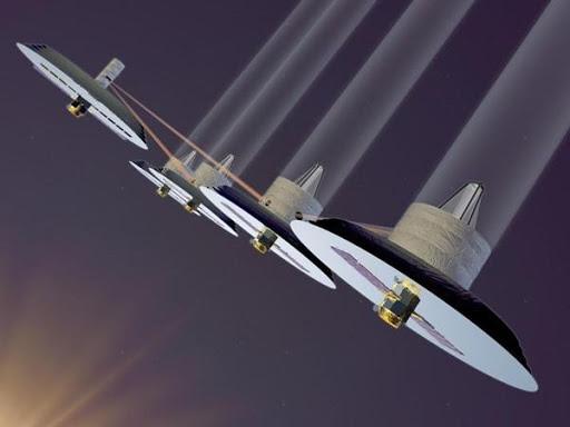 Concepção artística do projeto Terrestrial Planet Finder (Fonte da imagem: NASA)
