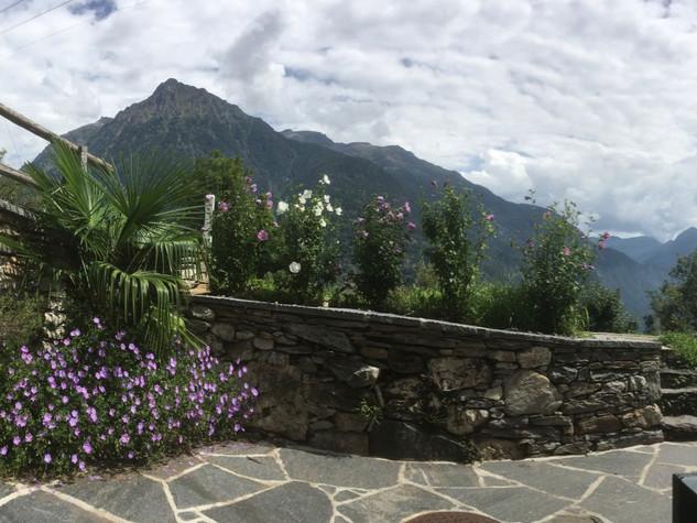Rustico Lena: Gartensichtplatz mit schöner Aussicht
