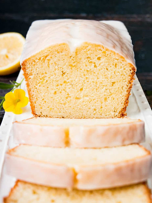 Mini Vanilla Pound Cake Loaf