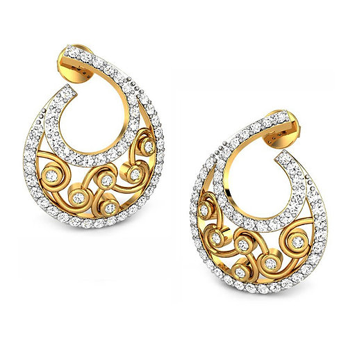 Diamond Earring 019
