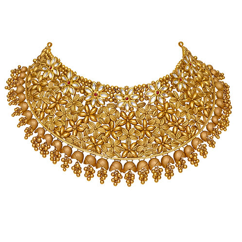 Gold Necklace 021