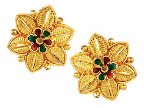 Gold Earring 003