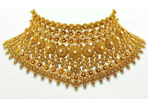 Gold Necklace 003