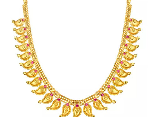 Gold Necklace 013