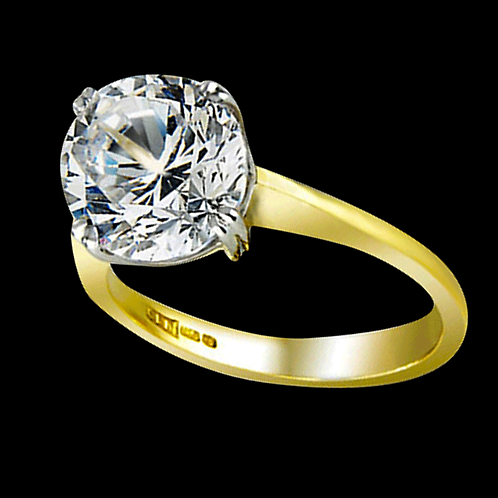 Ladies Solitaire Ring - 006